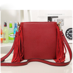 China Trend Designer PU Leather Tassels Sling Bag for Girl ...
