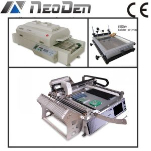LED SMD Production Line, Pick and Place Machine+ Reflow Oven+Printer pictures & photos