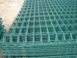 PVC Coated Welded Wire Mesh Fence Panels (AH-1036)