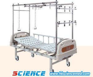 Orthopedic Traction Steel Hospital Bed pictures & photos