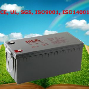 Good Quality AGM Battery Gel Battery 12V 200ah pictures & photos