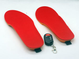 Remote Control Li-on Battery Heated Insole, Custom Heating System Solutions (SI-03) pictures & photos