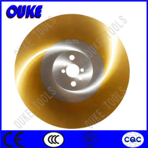 Tin Coated HSS Cold Saw Blade for Cutting Stainless Steel pictures & photos