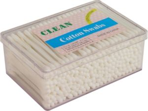 Daily Sanitary Goods Medical Cotton Buds Disposable Plastic Stick Swabs