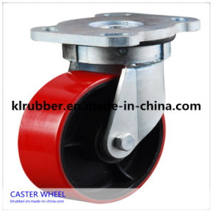 Heavy Duty PU Wheelbarrow Wheel pictures & photos