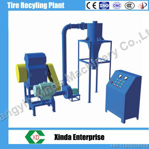 Waste Plastic Recycling Plastic Granulator Machine Tire Recycling pictures & photos
