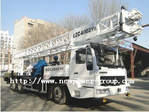 Truck Mounted Water Well Drilling Rig (BZC400ZYII)
