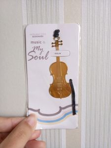 Fine Instrument Metal Hanging Rope Creative Bookmarks pictures & photos