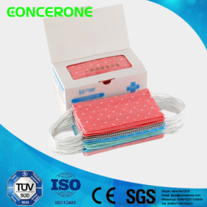 Disposable Nonwoven Surgical Face Mask with Printing (3ply) pictures & photos