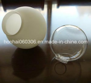New! ! 2015 Hotsale Handmade Round Glass Chimney for Lamp pictures & photos
