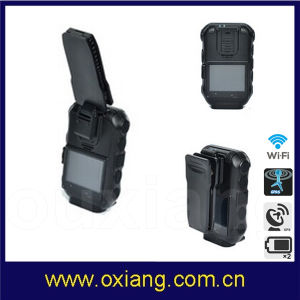 Hot Selling Built in GPS WiFi Bluetooth 120degree 3G 4G Body Worn Video Police Camera pictures & photos
