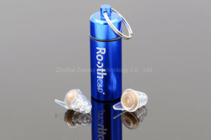 OEM&ODM Organic Silicone Earplugs with Filter pictures & photos