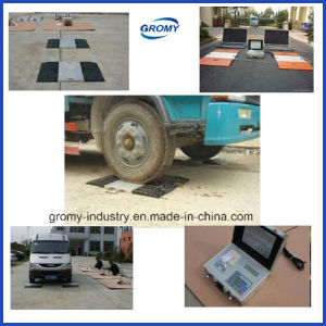 Electronic Portable Axle Weighing Scale Wheel Scale pictures & photos