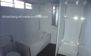 Certified Rental Prefabricated Portable Container Bathroom (shs-fp-bathroom006) pictures & photos