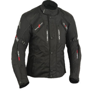 Wholesale Factory Custom Mens Black Motorcycle Jacket pictures & photos