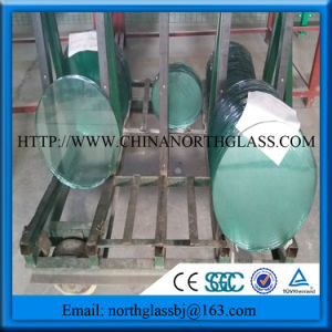 Round Safety Tempered Glass Dinner Table Glass pictures & photos