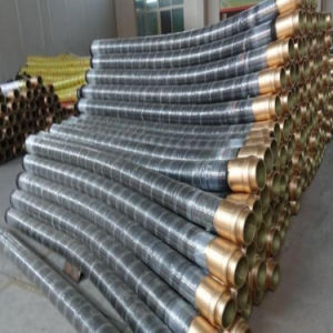 85 Bar Flex High Pressure Rubber Shotcrete Concrete Pump Hose Pipe pictures & photos