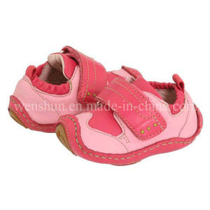 Beauty Leather Shoes for Baby Girls 1004 pictures & photos