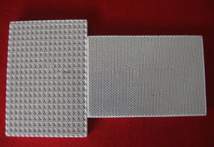 Infrared Honeycomb Cordierite Ceramic Plate for Burner pictures & photos