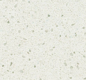 Crystal Series White Color Solid Surface Quartz Stone