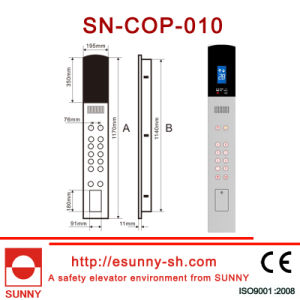 Stainless Steel Car Operation Panel for Elevator (CE, ISO9001) pictures & photos