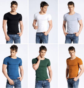 2017 New Design Fashion Screen Printing 100%Cotton T-Shirt pictures & photos