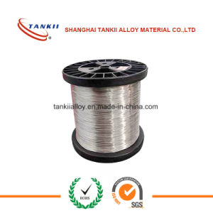 Copper nickel low resistant heating flat wire CuNi23(MC030) ZIN/2.0881 pictures & photos