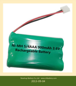 3.6V Ni-MH Battery Pack, Rechargeable Batteries, Battery Packs.