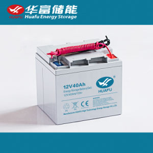 40ah High Quality Rechargeable Battery Deep Cycle Battery pictures & photos