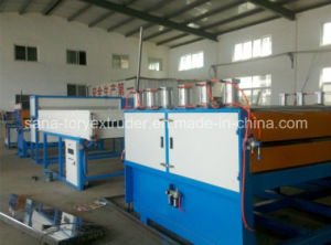 PC/PP/PE/PVC Plastic Hollow Grid Board Extruding Machine pictures & photos
