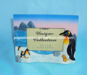 Polystone/Resin/Polyresin Penguin for Photo Frame Crafts pictures & photos