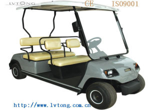 4 Seaters Small Electric Golf Car with CE pictures & photos