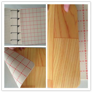 China Factory Supply Lowes Sponge Backing Flooring pictures & photos