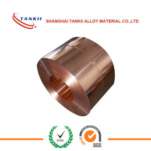 Resistance Alloy Manganin Strip (6J13) /Coil/Tape/Band/Belt for shunt pictures & photos