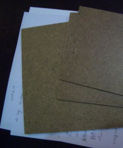 Dark Brown Hardboard 4X8 Smooth Surface and Rough Back pictures & photos