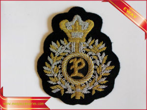 Embroidery Patch Fabric Patch Garment Tag Embroidery Label pictures & photos