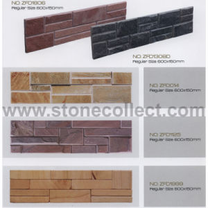 Slate&Sandstone Tile for Wall Claddings (yellow, red, white, black) pictures & photos
