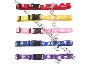 Pet Collar with Paw for Cat (C3017)