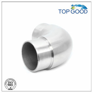 90 Degree Stainless Steel Round Tube Connector pictures & photos