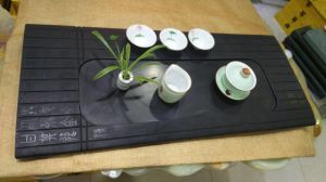 Black Marble Tray / Stone Tray pictures & photos