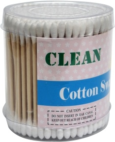 OEM Medical Sterile Wooden Stick Cotton Swab/Cotton Applicator pictures & photos