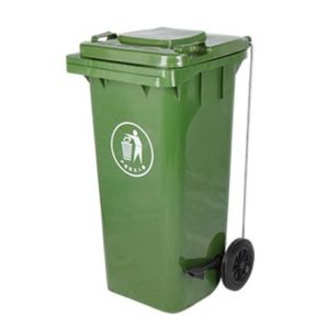 Pedal Open Plastic Waste Bin (FS-80120A) pictures & photos