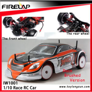 RC Model 1: 10 Scale on Road Raceing Car with Brushed Motor