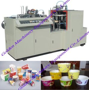 Ice-Cream Tea Noodle Soup Coffee Paper Cup Making Machine pictures & photos