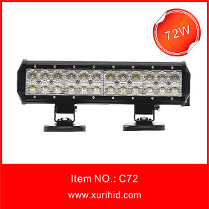 12′′ 72W CREE LED Light Bar for All Car with CREE Lamp