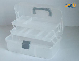 "14"" Plastic Art Canse/Tool Box (SF-G514) pictures & photos"