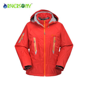 Red Color Polyester 3 in 1 Mountain Clothes pictures & photos