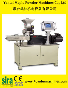 Lab Scale Twin Screw Extruder for Power Coating with Automatic Temperature Control System pictures & photos