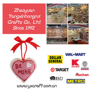 Valentine Decorations (ZY6480-1) Free Sample Love Bear Pillow Gift pictures & photos
