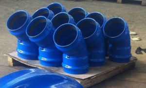 Ductile Iron Socket Bend for PVC Pipe